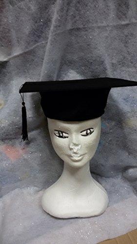 Cappello Tocco di LAUREA stile classico ideale per laureato o laureata 5a6154776096