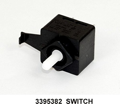 Dryer Push to Start Switch (2 Terminal, PTS Switch) New OEM Whirlpool (Kenmore Timer Switch Dryer)