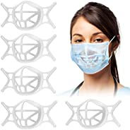 MTOP Upgraded 3D Silicone Bracket for Mask[Reusable],Breathing Cup,Keep the Fabric Away From the Mouth,Create