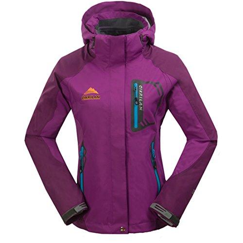 CIKRILAN Girls 3in1 Waterproof Breathable Outdoor Windproof Jackets Child Coats