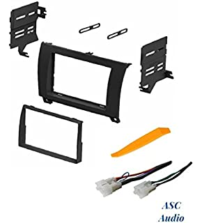 asc car stereo dash install kit and wire harness for installing an  aftermarket double din radio