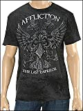 Affliction Men's Fedor Warbird T-Shirt (XL, Black)
