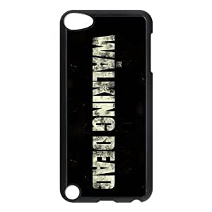 iPod Touch 5th Generation Black/White Case - The Walking Dead iTouch 5 Snap On Hard Case - Vazza