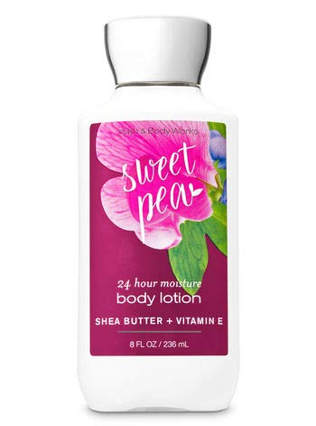 - Bath & Body Works Sweet Pea Body Lotion Signature Collection 8 oz