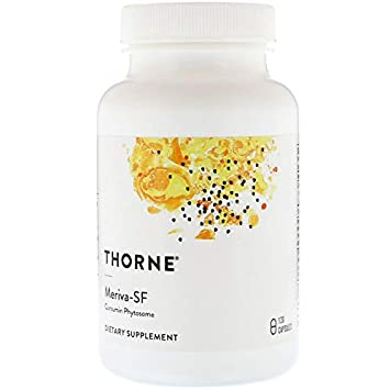 Thorne Research – Meriva-500 – Contains Soy Curcumin Phytosome Supplement – 120 Capsules Old Formula