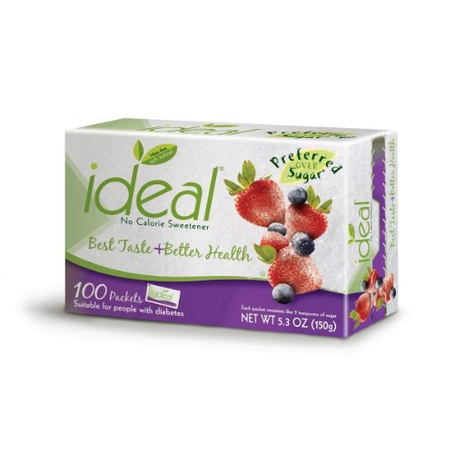 Ideal No Calorie Sweetener (Ideal No Calorie Sweetener 100 Count)