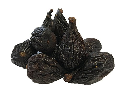 NUTS U.S. - Dried Black Mission Figs (4 LB) (Dried Black Mission Figs)