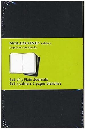 Moleskine Cuaderno revistas negro, en blanco 3 1/2 in. x 5 1/2 in ...