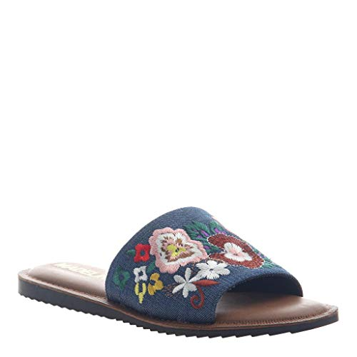 MADELINE girl Women's Sun Kissed Sandals - Blue - 9 M US ()