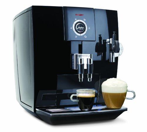 Capresso Super Automatic Coffee Maker - Jura-Capresso 13548 Impressa J6 Automatic Coffee and Espresso Center, Piano Black