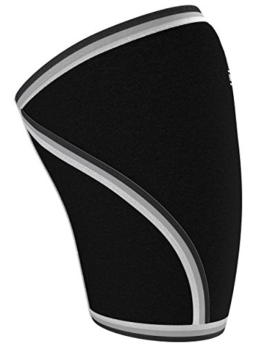 Nordic Lifting Elbow Sleeves (1 Pair) Support & Compression for Weightlifting, Powerlifting, Cross Training & Tennis - 5mm Neoprene Sleeve The Best Brace -Women & Men 1 Year Warranty,Black, XL by Nordic Lifting (Image #9)