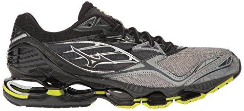 Mizuno Mens Wave Prophecy 6 Running Shoe Trade Winds-black