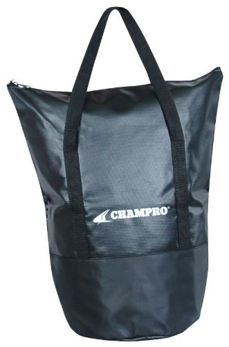 Champro Deluxe Ball Bag (Black, 9 x 15/X-Large)