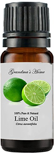 Grandma's Home Essential Oils - 100% Pure Therapeutic Grade (Lime, 10 mL)
