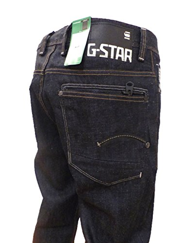 G-STAR HERREN JEANS ATTACC LOOSE COVER DENIM RAW W33L32