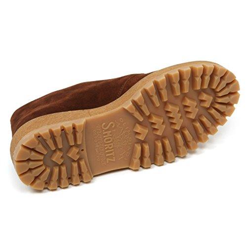 marrone scarpa B9688 scarpe scamosciato Marrone woman shoe donna SHOE CAR qnn4YxdrSf