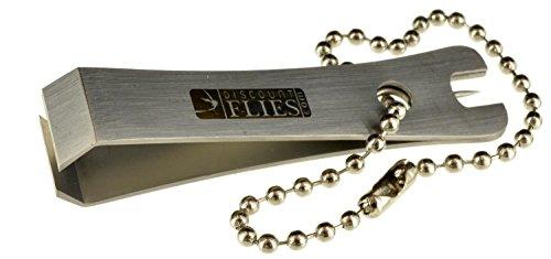 Stainless Steel Line Nipper & Hook Eye Cleaner (Satin)