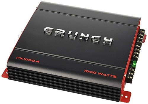 crunch PX1000.4 Power Amplifier ...