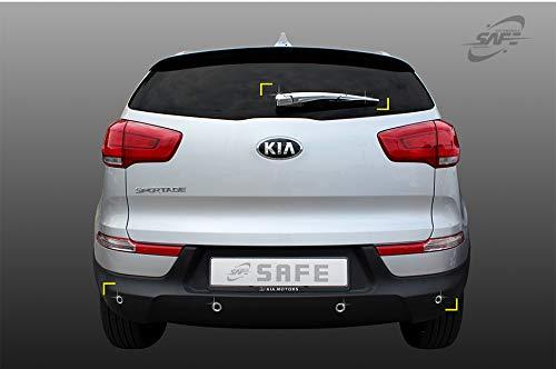Brazo de limpiaparabrisas trasero cromado y sensor de aparcamiento moldeado K-512: Amazon.es: Coche y moto