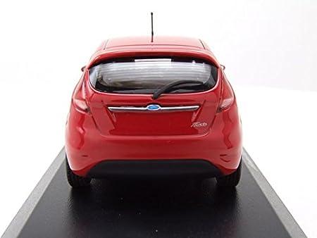 Maxichamps - Ford Fiesta - 2011 Coche en Miniatura de colección, 940088000, Rojo: Amazon.es: Juguetes y juegos