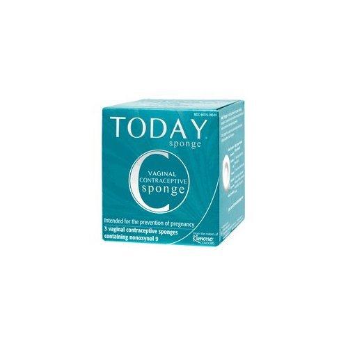 Éponge Today, 3 éponges contraceptives