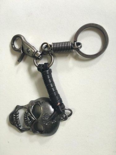 Diesel Buckle Closure Belt (Key Chains Key Ringsr Brass Silver Color Metal Plated Rock Punk Heavy Metal Biker)