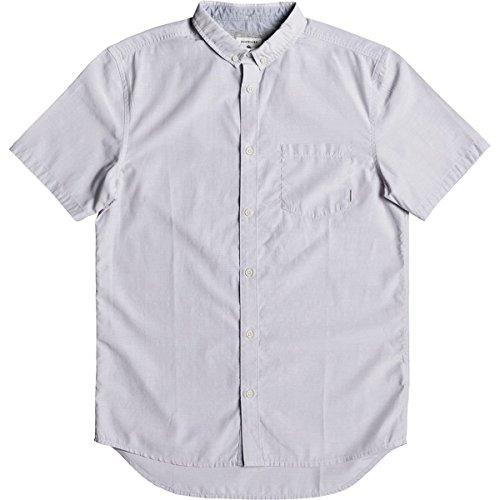 Quiksilver Men's Valley Groove Short Sleeve, Silver Sconce, XL by Quiksilver