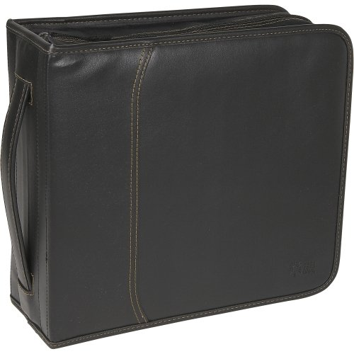 Case Logic 320 Cd Wallet . Slide Insert . Koskin . Black . 320 Cd/Dvd