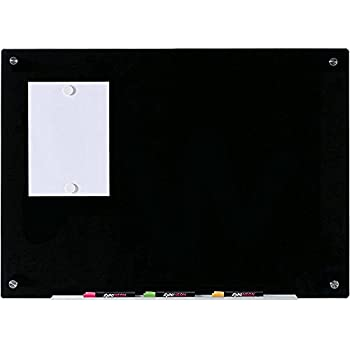 Amazon.com: White Kaiman - Pizarra magnética de cristal sin ...