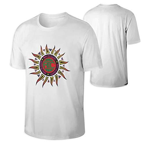 RobbinsTonya Alice in Chains Mans Classic Bonus Neck T-Shirt White -