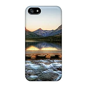 Anti-scratch And Shatterproof Montana Glacier National Park Montana Phone Cases For Iphone 5/5s/ High Quality Cases by ruishername