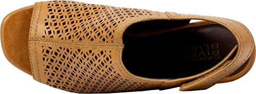 Mountain Sandal Natural Burnished Heeled Polyurethane Smooth Lenesis RG White Women's Zd6Xq