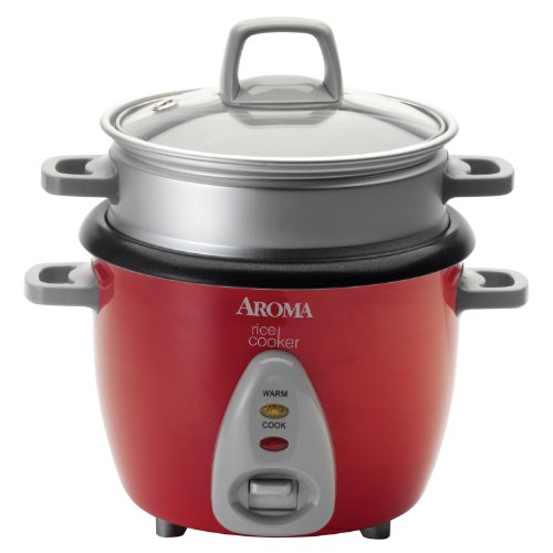 Aroma Housewares ARC-733-1NGR 6-Cup Rice Cooker & Food Steamer
