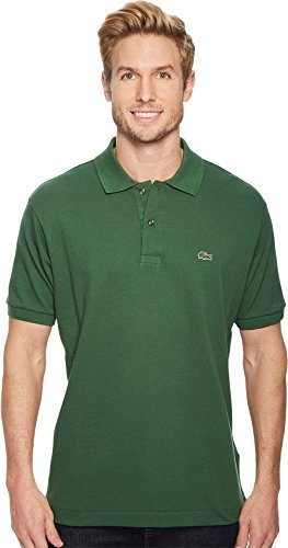 - Lacoste Men's Short Sleeve Classic Pique Polo Shirt Green 7