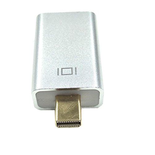 Duttek Mini Displayport to HDMI Adapter, Mini DP Male to HDMI Female