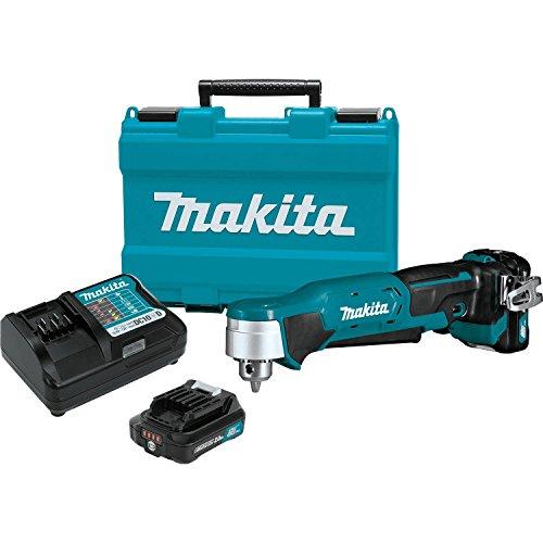 Drill Angle Right Kit (Makita AD03R1 12V max CXT Right Angle Drill Kit, 3/8