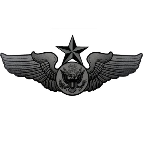 U.S. Air Force Senior Enlisted Aircrew Badge Clear Decal