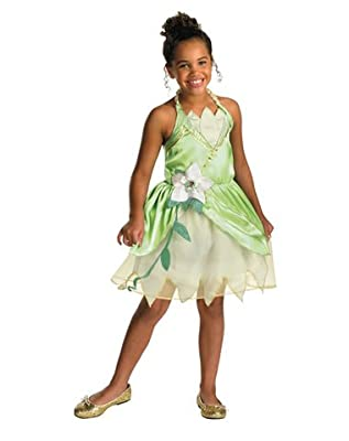 Disguise Inc Girls' Disney Princess And The Frog Tiana Classic Costume | Learning Toys