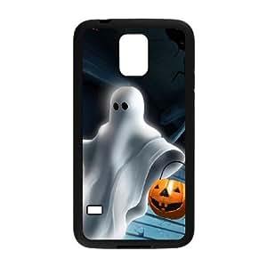 Samsung Galaxy S5 Cell Phone Case Black Halloween ghost JSK678065