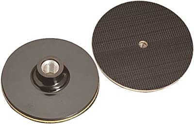 A&H Abrasives 125744, Sanding Accessories, Replacement Back-up Pads, 5x5/8-11 H&L Surface Prep Back Up Pad