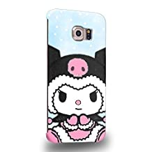 Case88 Premium Designs My Melody & Kuromi Collection 0646 Protective Snap-on Hard Back Case Cover for Samsung Galaxy S6 Edge
