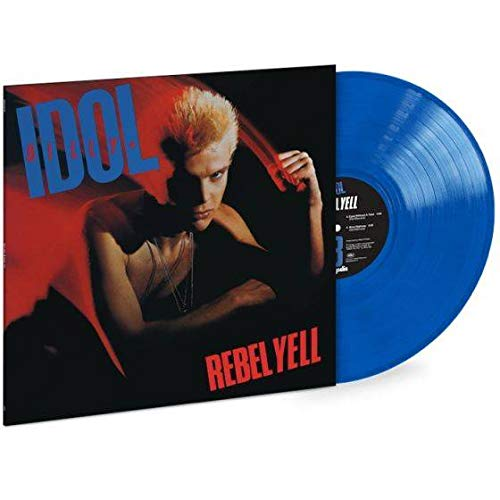 Billy Idol - Rebel Yell 35th Anniversary LIMITED EDITION 180-gram Translucent Blue Vinyl LP ()