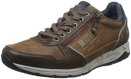 Brun Mustang Hommes Sneaker (chatain)