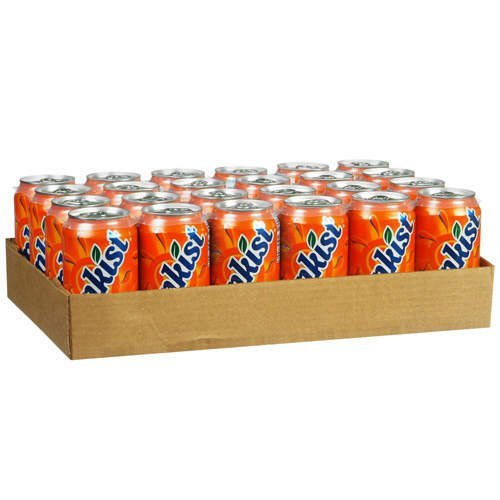 Sunkist Orange Soda, 12 Ounce (24 Cans) Sunkist Orange
