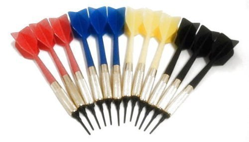 Gld Commercial Soft Tip Bar Darts-Set of 12