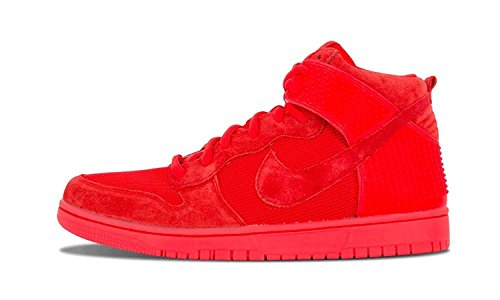 Nike Mens Dunk CMFT PRM Casual Shoe, Rojo, 44 D(M) EU/9 D(M) UK