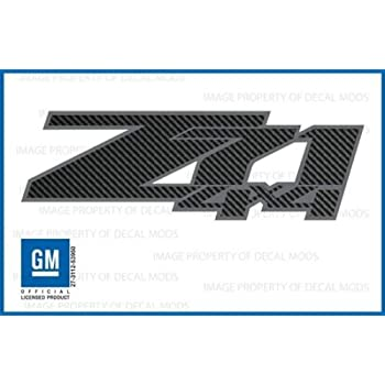Amazoncom Chevy Silverado Z X Decals Stickers Black Blackout - Chevy silverado stickers
