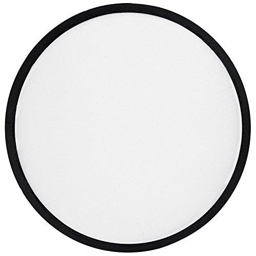 Primetrade – Lot de 10 frisbees en nylon colorés – Parfaits pour jouer en extérieur – Pliables – Un étui par modèle
