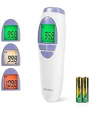 Thermomètre Frontal Infrarouge pour bébé, enfant, adulte, Hylogy sans Contact Numérique Médical Professionnel précise Thermomètre infrarouge