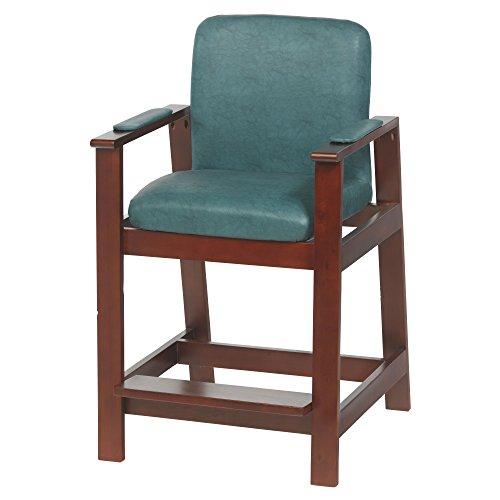 Drive Medical Wood Hip High Chair, Cherry